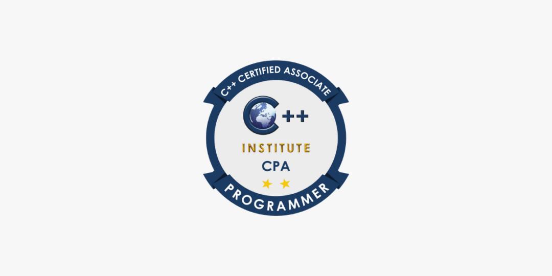 Formation CPA – C++ Certified Associate Programmer Certification